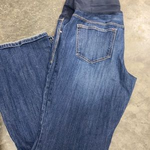 OLD NAVY MATERNITY JEANS 12 long